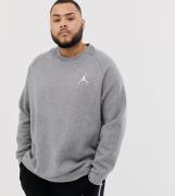 Sudadera gris con logo 940170-091 de Nike Jordan Plus