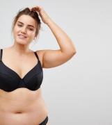 Sujetador básico y escotado de microfibra con relleno Mix & Match de A...